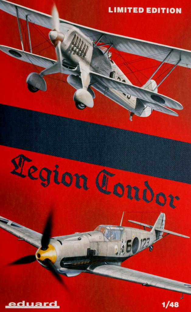 1-6 Legion Condor Eduard 1:48 (1140)