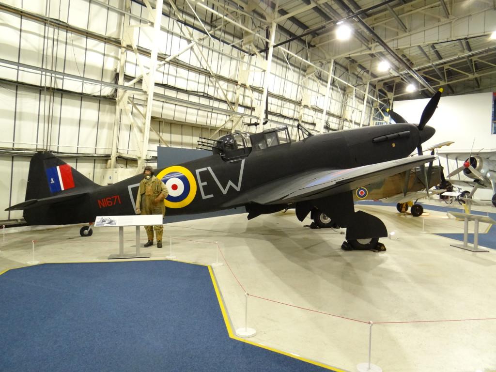 1-7 Boulton Paul Defiant Mk 1 1:48 Airfix (A05128)