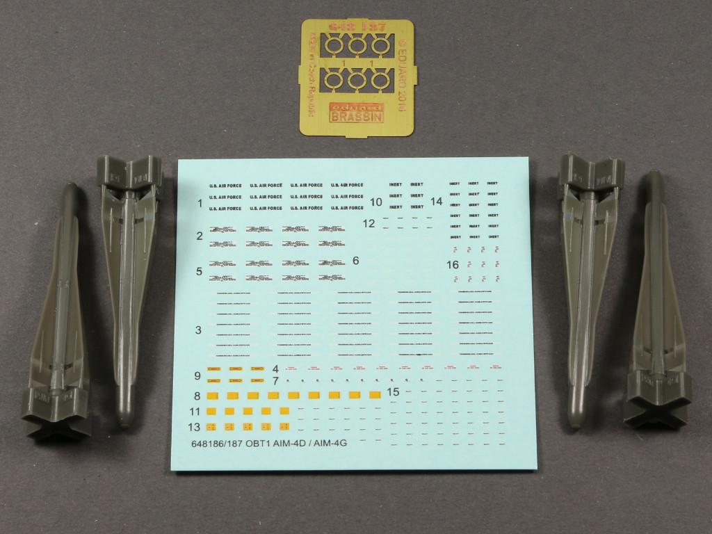 """2-2 AIM-4G """"Falcon"""" Eduard 1:48 (648 187)"""