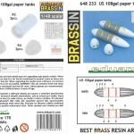 6-150x150 US 108gal paper tanks 1:48 Eduard (648 233)