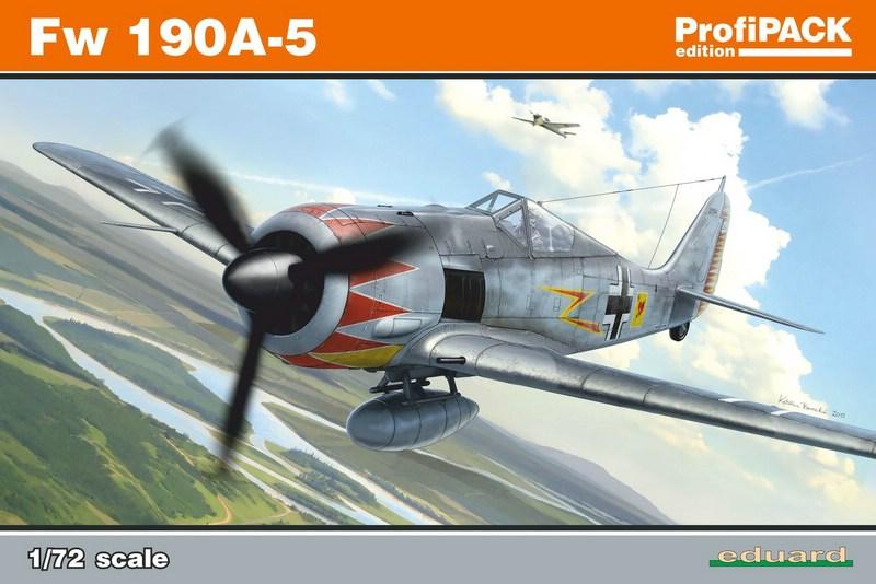 Eduard-70116-FW-190-A-5-ProfiPack-1 Eduards FW 190 A-5 als ProfiPack (1:72)