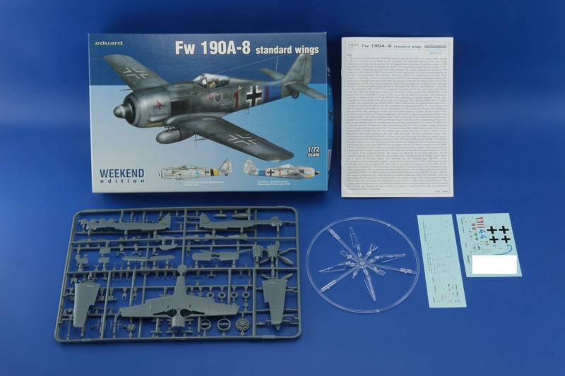 Eduard-7435-FW-190-A-8-WEEKEND-3 FW 190 A-8 in der WEEKEND-Edition von Eduard (1:72)