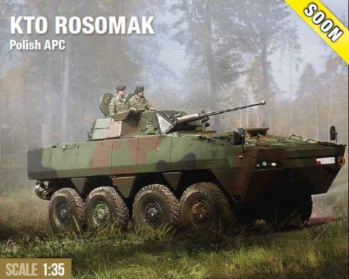 IBG-Rosomak-14 Demnächst erhältlich: KTO ROSOMAK von IBG Models (1:35)