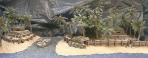 MGM Diorama Pazifik- Insel Befestigung (1)