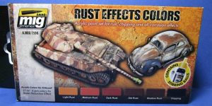 Rust Effect Colors von Ammo of MIG