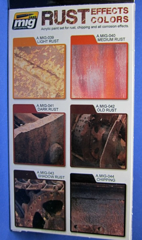 MIG-7106-Rust-Effect-Colours-2 Rust Effect Colors von Ammo of MIG