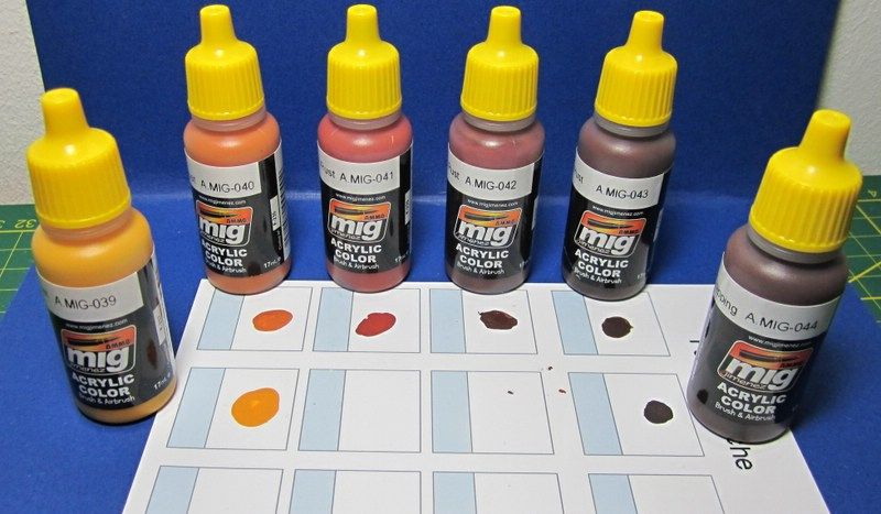 MIG-7106-Rust-Effect-Colours-4 Rust Effect Colors von Ammo of MIG