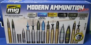 "Farbenset ""Modern Ammunition Colours"" von Ammo of MIG"