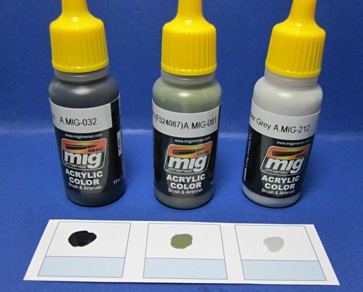 "MIG-7129-Modern-Ammuniton-4 Farbenset ""Modern Ammunition Colours"" von Ammo of MIG"