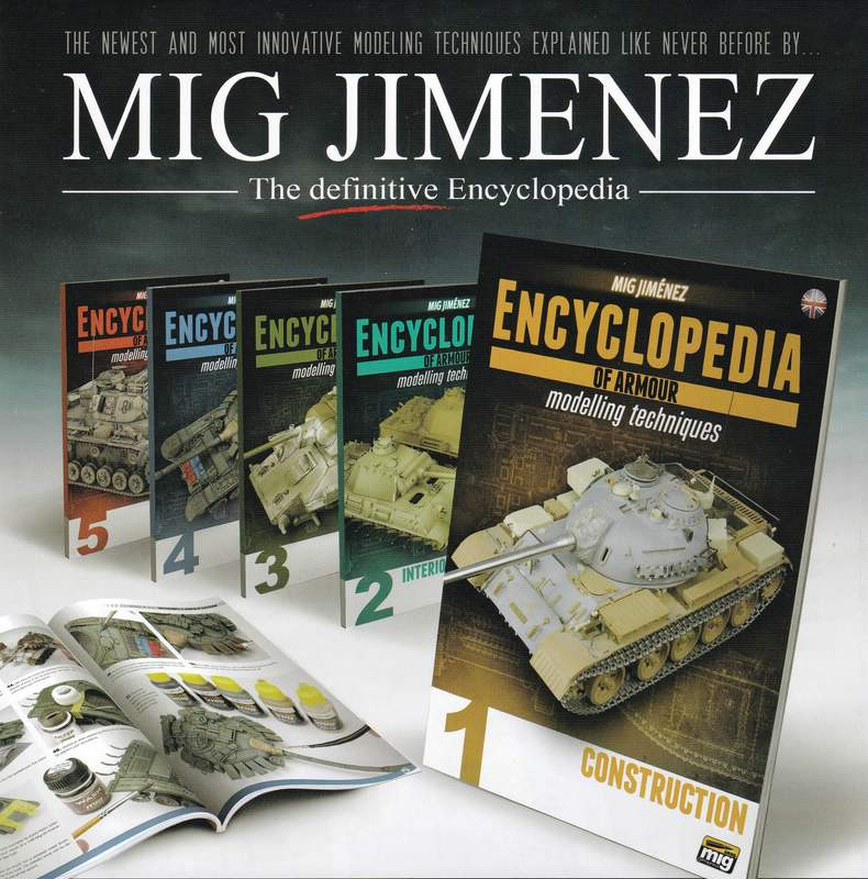 MIG-Encyclopedia-of-Armour-Modelling-Heftreihe Encyclopedia of Armour Modelling Techniques Vol. I