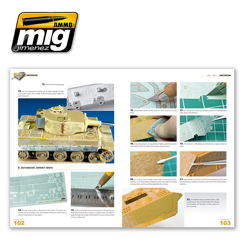 MIG-Encyclopedia-of-armour-modelling-techniques-vol-1-construction-english-advanced-exterior-7 Encyclopedia of Armour Modelling Techniques Vol. I