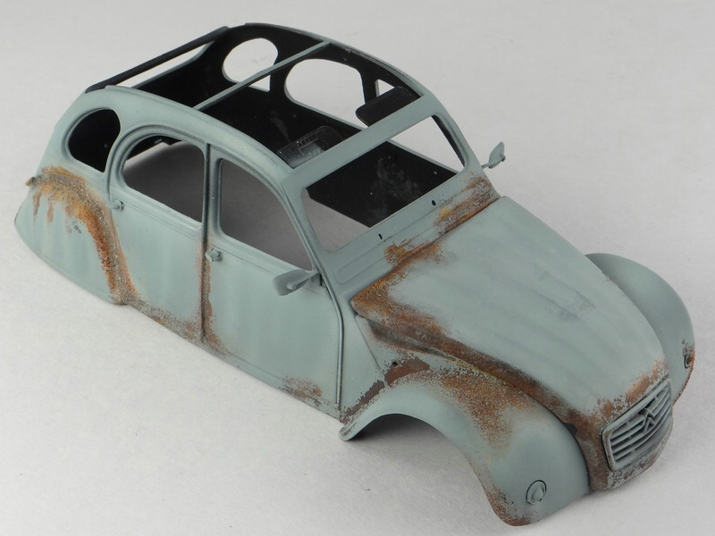MIG-Rust-effects-Citroen-2CV-3 Rust Effects Colors von MIG