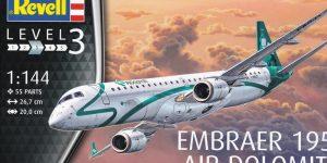 Revells neuer Passagierjet – die Embraer 195 Air Dolomiti (1:144)