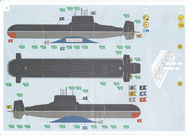 Revell-05138-Soviet-Submarine-Typhoon-Class-Bauanleitung-4 Typhoon Class Submarine (Revell 1:400)
