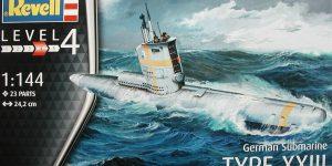 Typ XXIII U-Boot von Revell / ICM im Maßstab 1:144