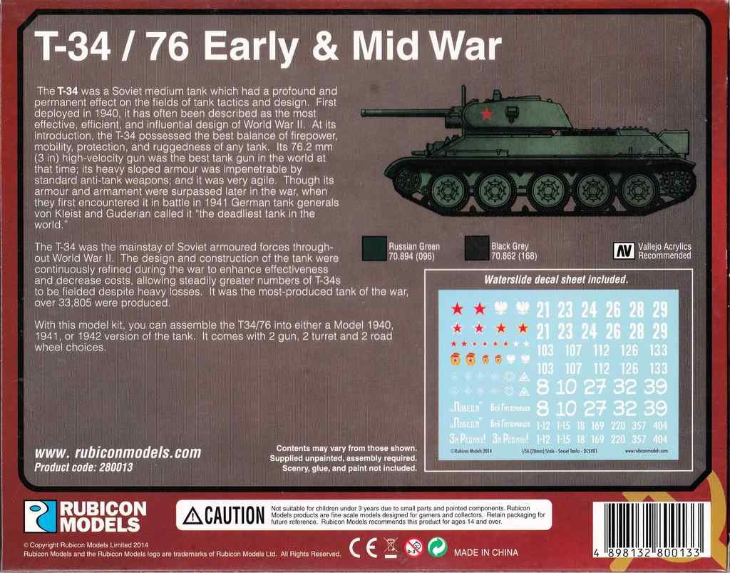 Rubicon-Models-T-34-76-18-1024x803 Wargaming: T34/76 by Rubicon Models in 28mm
