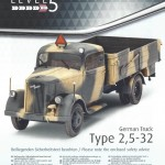 a01-150x150 German Truck Type 2,5-32 Revell 1:35 (03250)