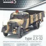 a01-150x150 German Truck Type 2,5-32 Revell 1:35 (03250)