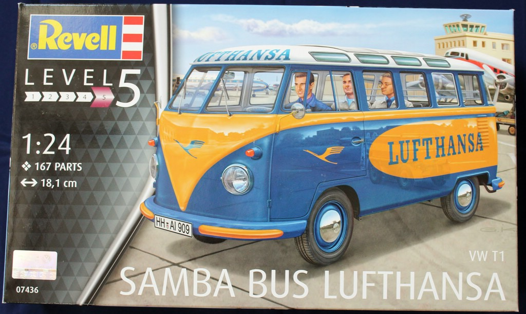 big_IMG_0779 VW Samba Bus Lufthansa in 1:24