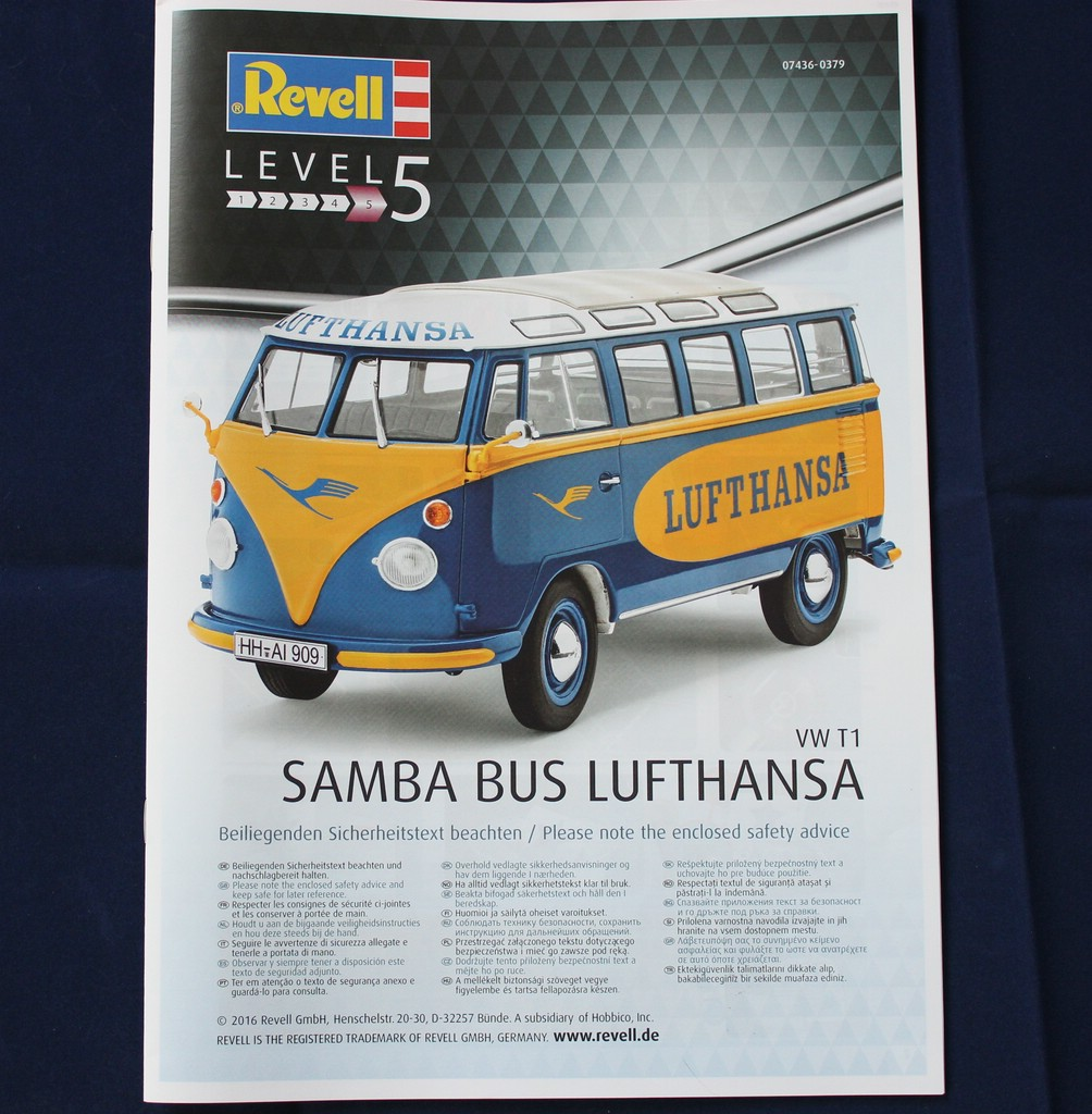 big_IMG_0781 VW Samba Bus Lufthansa in 1:24