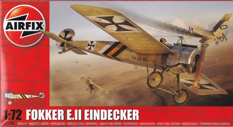 Airfix-A01086-Fokker-Eindecker-E-7 Fokker Eindecker E.II von Airfix (1:72)