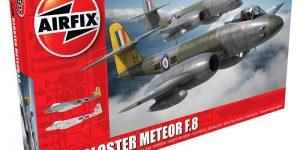 Gloster Meteor F.8 von Airfix im Maßstab 1:48