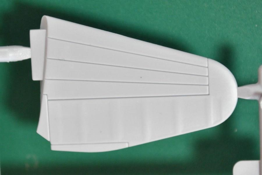 Airfix-Boulton-Paul-Defiant-Bauteile-14 75 Jahre Luftschlacht um England - die Boulton-Paul Defiant (Airfix A 02069) im Maßstab 1:72