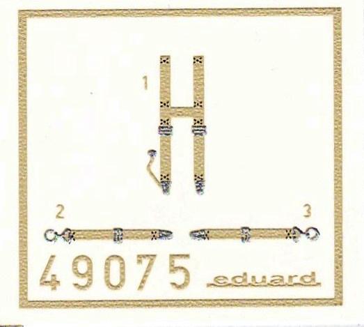 Eduard-49075-SSW-D.III-seatbelts-SUPERFABRIC-1 Eduard´s Quarterscale Siemens-Schuckert SSW D.III (WEEKEND 8484)