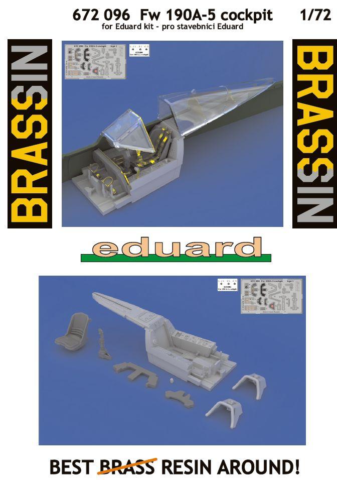 Eduard-672096-FW-190-A-5-Cockpit-BRASSIN-10 Nützliches Zubehör für die FW 190 A-5 von Eduard (1:72)