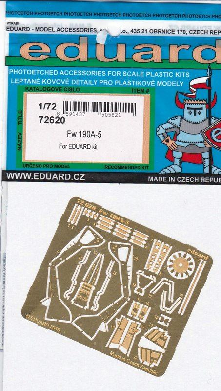 Eduard-72620-FW-190-A-5-Exterior-2 Nützliches Zubehör für die FW 190 A-5 von Eduard (1:72)