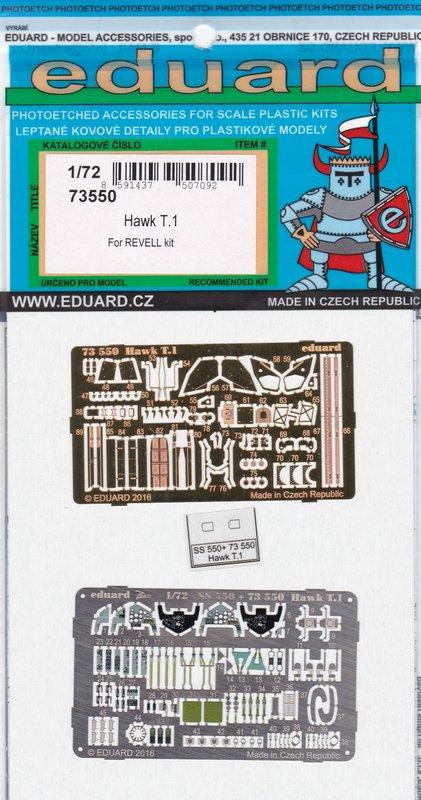 Eduard-73550-Hawk-T-3 Eduard Zubehör für die Hawk T.1 von Revell in 1:72