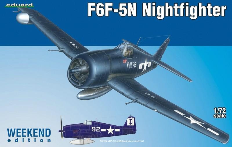 f6f 5n nightfighter plus zubeh r von eduard 1 72. Black Bedroom Furniture Sets. Home Design Ideas
