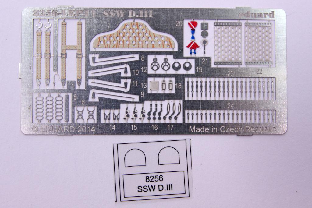 Eduard-8256-SSW-D-14 Siemens-Schuckert SSW D.III (Eduard 8256 in 48th scale)
