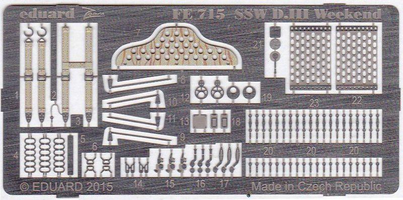 Eduard-FE-715-SSW-D.III-inetrior-ZOOM-1 Eduard´s Quarterscale Siemens-Schuckert SSW D.III (WEEKEND 8484)