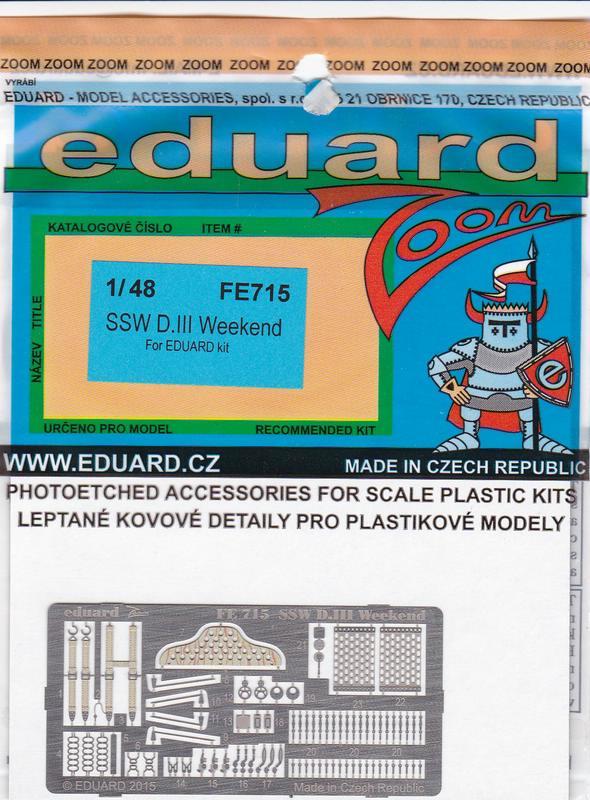 Eduard-FE-715-SSW-D.III-inetrior-ZOOM-2 Eduard´s Quarterscale Siemens-Schuckert SSW D.III (WEEKEND 8484)