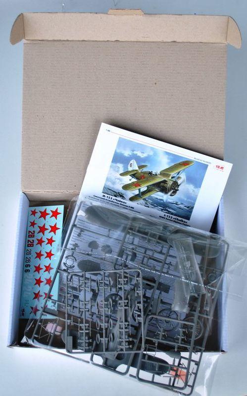 ICM-Polikarpov-I-153-1zu48-15 Polikarpov I-153 von ICM (1:48)