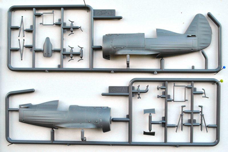 ICM-Polikarpov-I-153-1zu48-21 Polikarpov I-153 von ICM (1:48)
