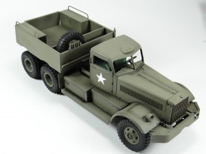 M19-010-300x225 Build Review : U.S. M19 Tank Transporter with Hard Top Cab 1:35 Merit International (63501)