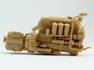 M19-012-300x225 Build Review : U.S. M19 Tank Transporter with Hard Top Cab 1:35 Merit International (63501)