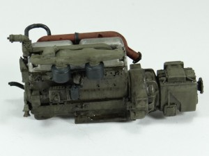 M19-023-300x225 Build Review : U.S. M19 Tank Transporter with Hard Top Cab 1:35 Merit International (63501)