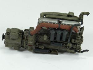 M19-034-300x225 Build Review : U.S. M19 Tank Transporter with Hard Top Cab 1:35 Merit International (63501)