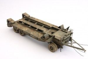 M19-047-300x200 Build Review : U.S. M19 Tank Transporter with Hard Top Cab 1:35 Merit International (63501)