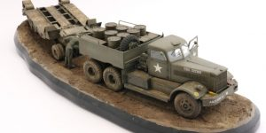 Build Review : U.S. M19 Tank Transporter with Hard Top Cab 1:35 Merit International (63501)