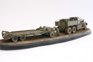 M19-049-300x200 Build Review : U.S. M19 Tank Transporter with Hard Top Cab 1:35 Merit International (63501)