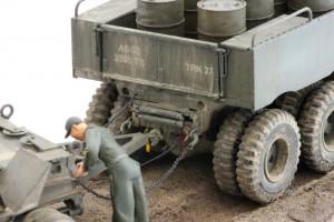 M19-053-300x200 Build Review : U.S. M19 Tank Transporter with Hard Top Cab 1:35 Merit International (63501)