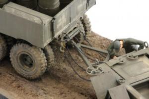 M19-054-300x200 Build Review : U.S. M19 Tank Transporter with Hard Top Cab 1:35 Merit International (63501)