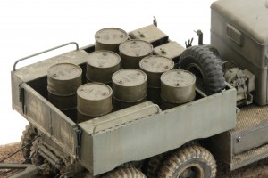 M19-055-300x200 Build Review : U.S. M19 Tank Transporter with Hard Top Cab 1:35 Merit International (63501)