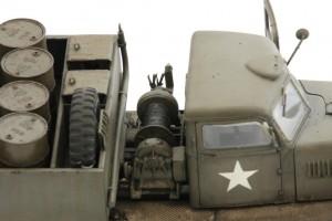 M19-057-300x200 Build Review : U.S. M19 Tank Transporter with Hard Top Cab 1:35 Merit International (63501)