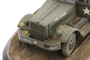 M19-059-300x200 Build Review : U.S. M19 Tank Transporter with Hard Top Cab 1:35 Merit International (63501)