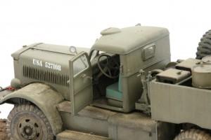 M19-062-300x200 Build Review : U.S. M19 Tank Transporter with Hard Top Cab 1:35 Merit International (63501)